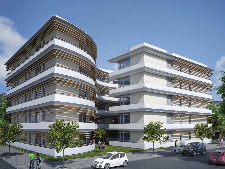 תכנון אדריכלי של מגורים לעמותת תרבות בעפולה